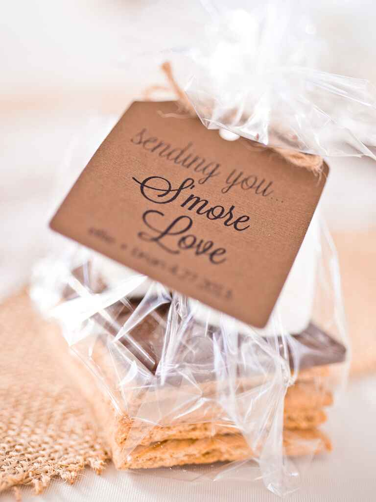 Winter-Themed Wedding Favors