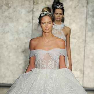 Inbal Dror Fall 2018 wedding dress collection bridal fashion week photos