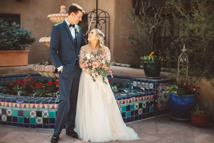 A Southwestern Themed Wedding At La Fonda On The Plaza In Santa Fe New Mexico