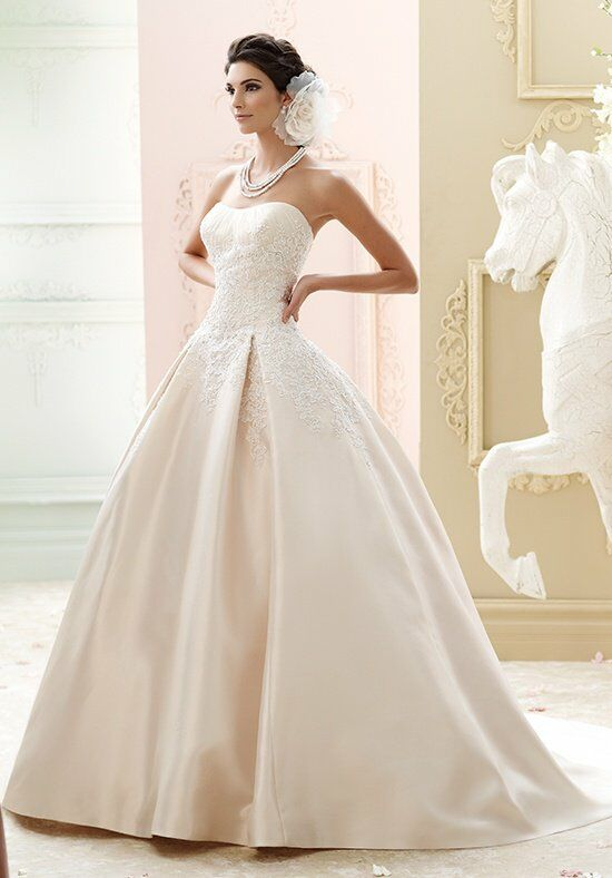 David Tutera for Mon Cheri 215260 - Glinda Wedding Dress photo