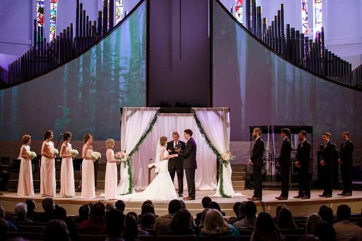 A Traditional Bright Wedding At Bethany First Church Of