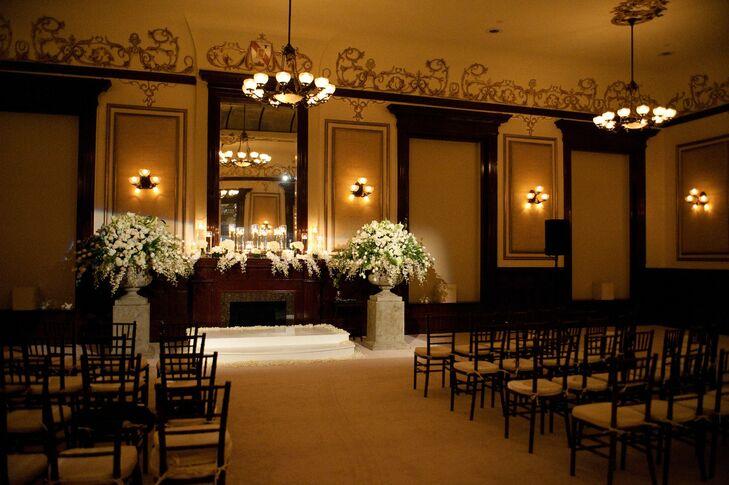 the driskill hotel wedding ceremony