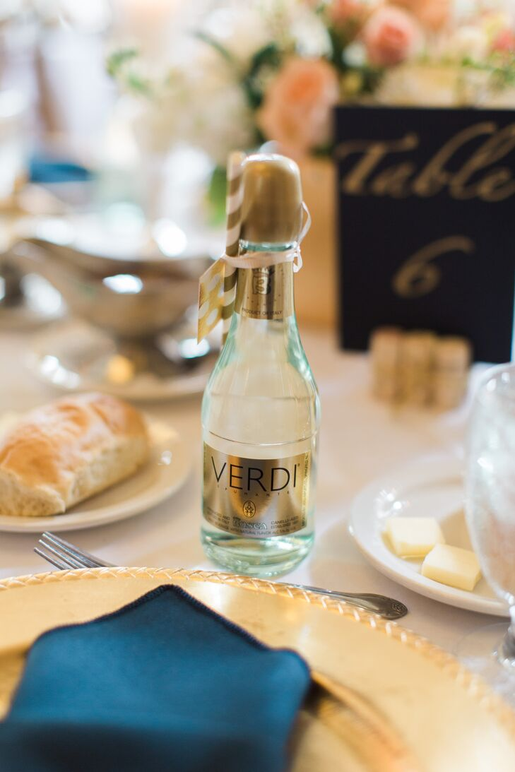 Verdi Mini Wine Bottle Wedding Favor