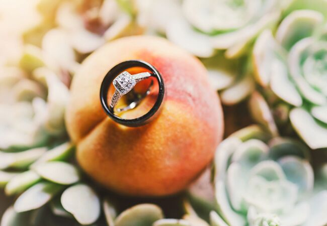 Creative Ways To Display Ring Connection Photography The Knot Blog