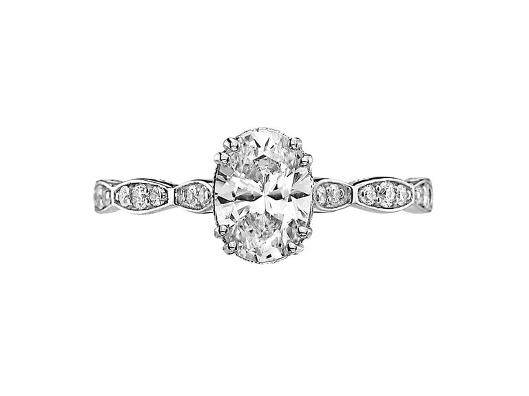 Oval Engagement Ring Tacori