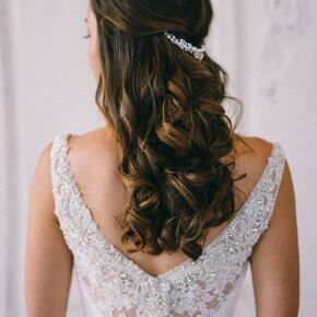 Half up wedding hairstyles junglespirit