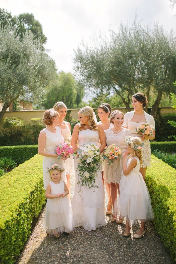 Ivory Bridesmaid Dresses