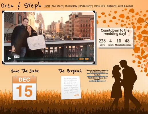 There S No Denying The Design Savvy Behind These Insanely Creative Wedding Websites Click Through