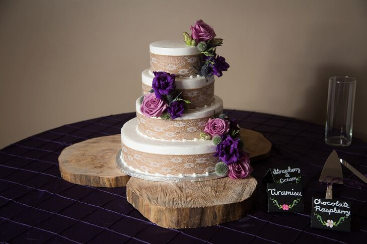 wedding cakes kent ohio a purple classic wedding with a rustic twist at nazareth 24845