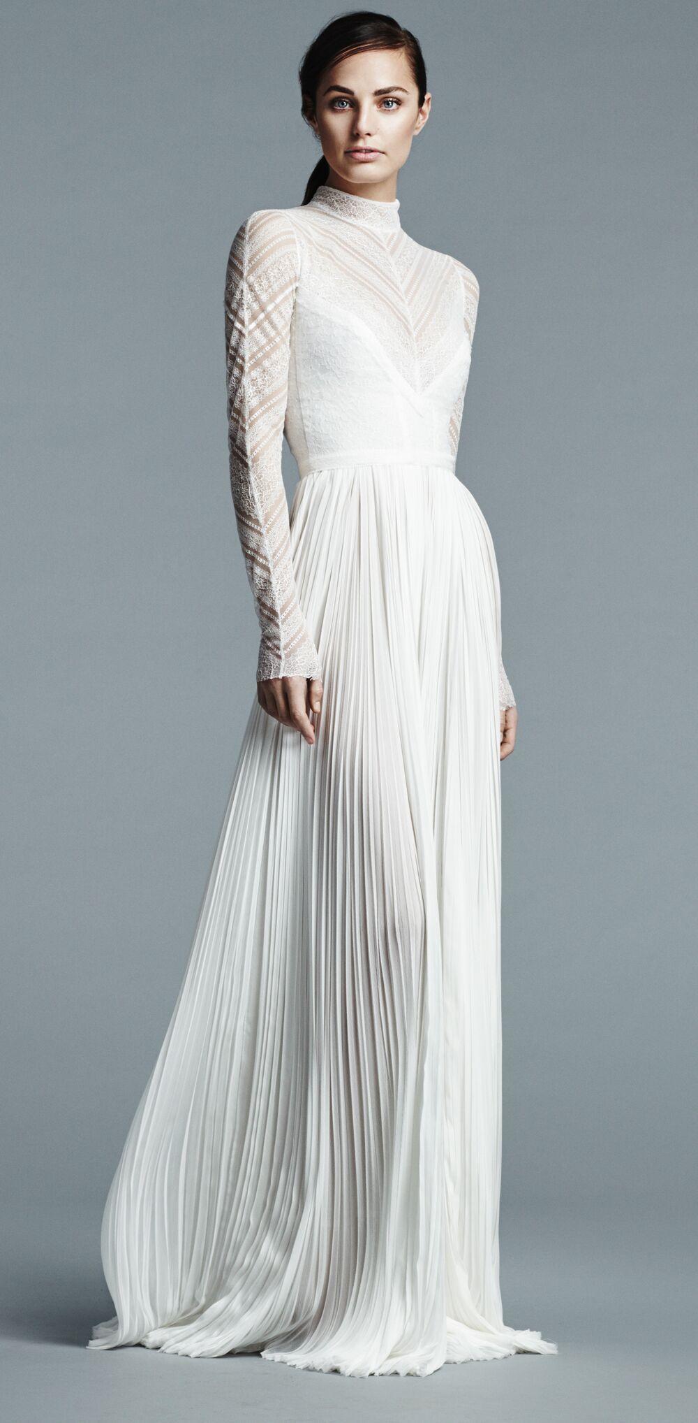 J. Mendel Spring 2017 Collection: Bridal Fashion Week