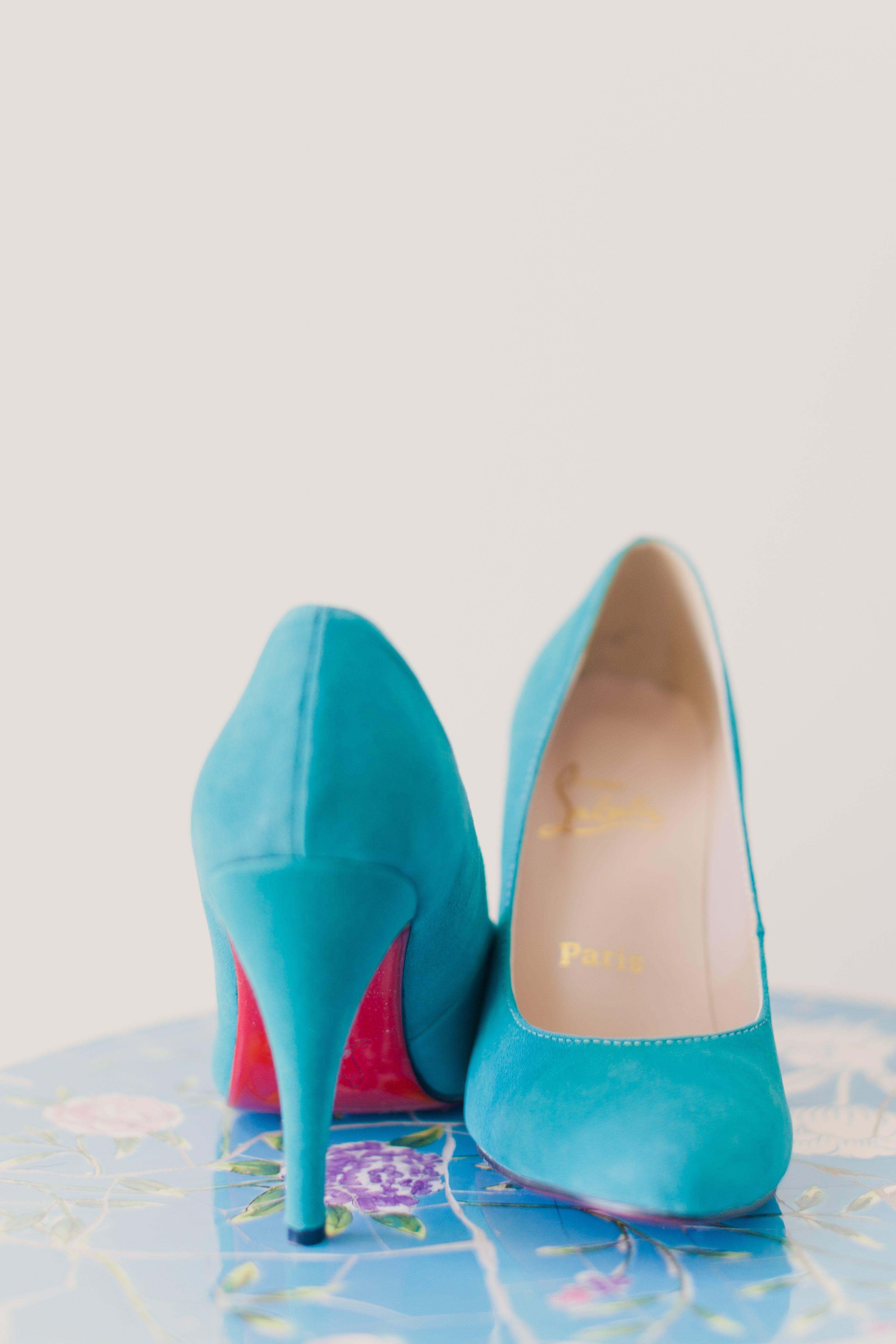 high heels sandals light blue - photo #38