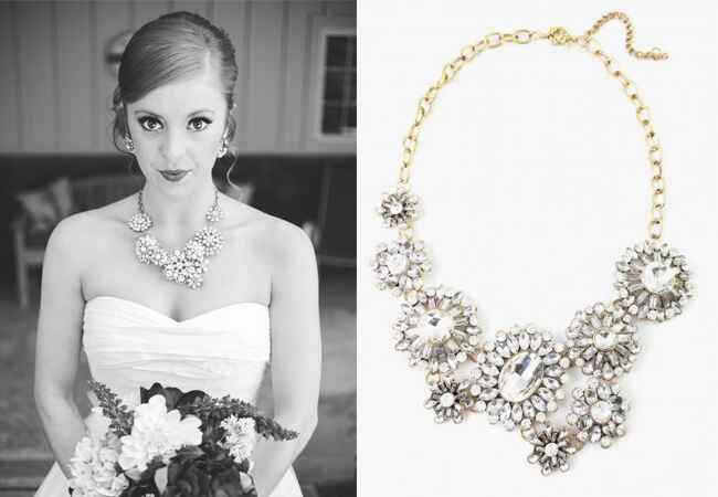 Crystal Statement Necklace |<img class=