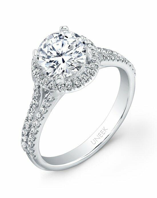 Uneek Fine Jewelry USM022RD-6.5RD Engagement Ring photo