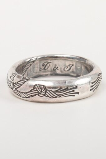 catbird digby and iona rope wedding band - Unique Wedding Rings For Him