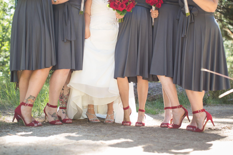 Nude Heels For Bridesmaids