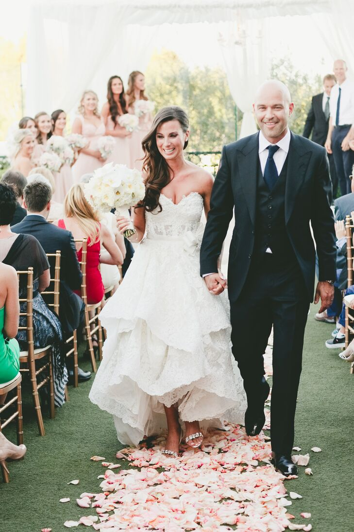 A Romantic Glamorous Wedding at The London West Hollywood