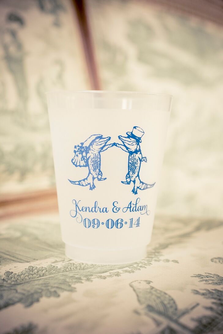 New Orleans-Inspired Wedding Favor Cup