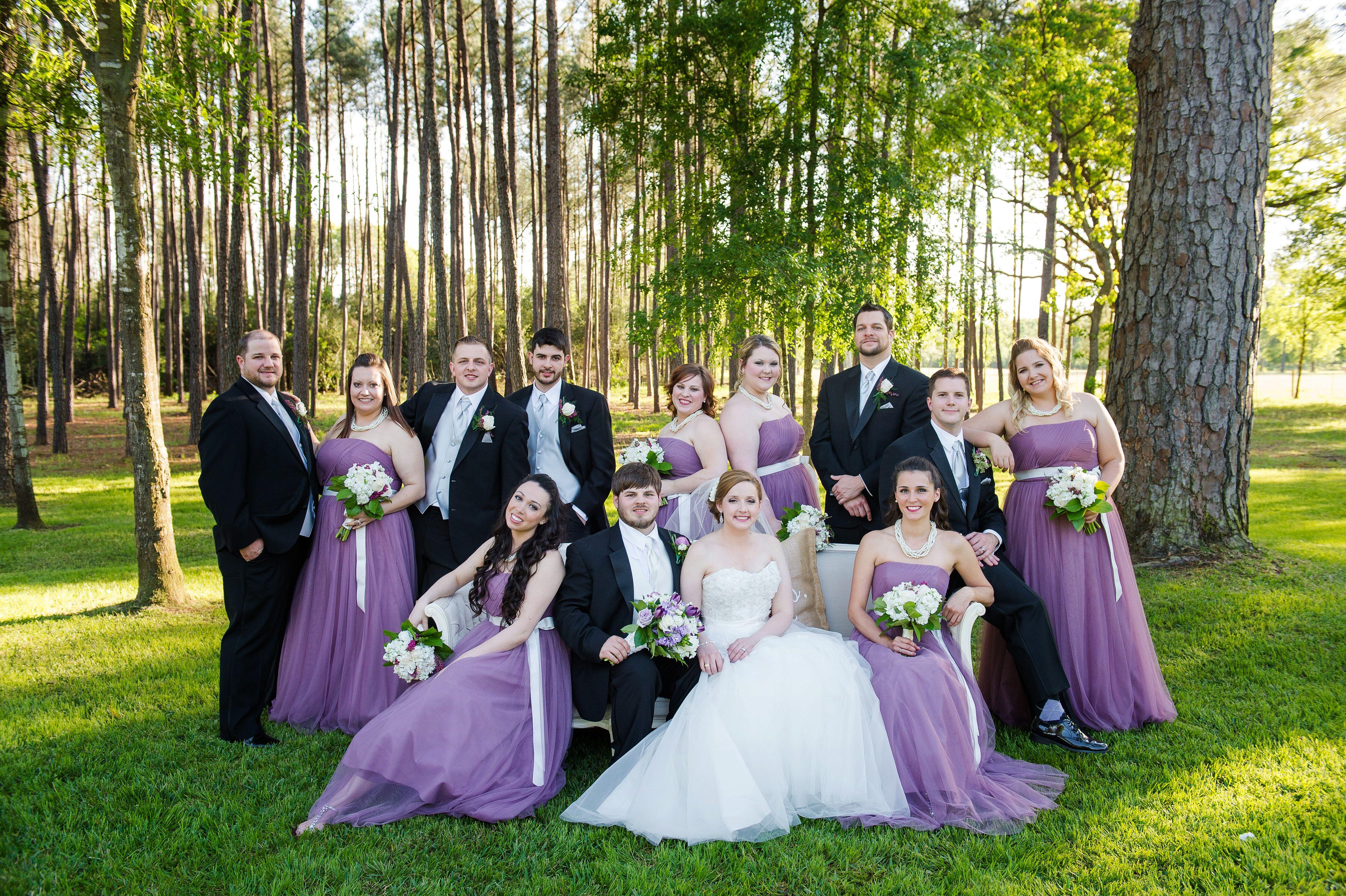 lilac bridesmaid and groom - HD4928×3280