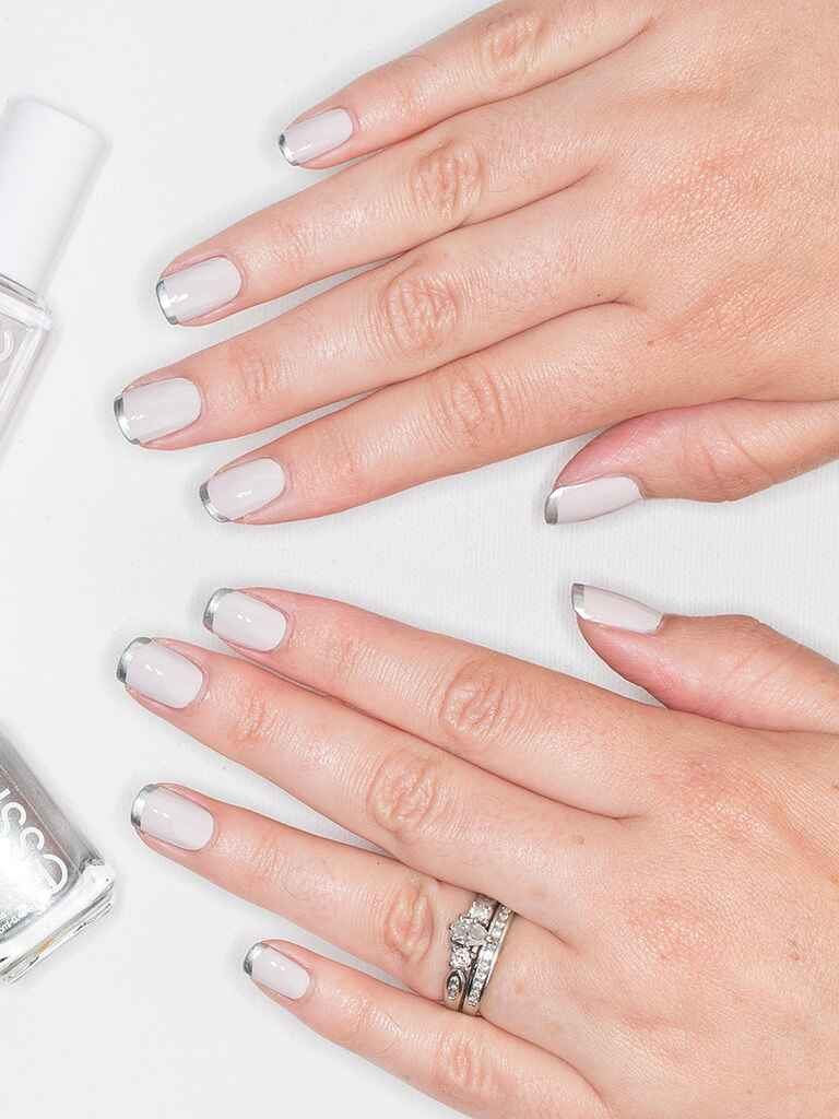 Wedding Nail Art Manicure Ideas From Pinterest