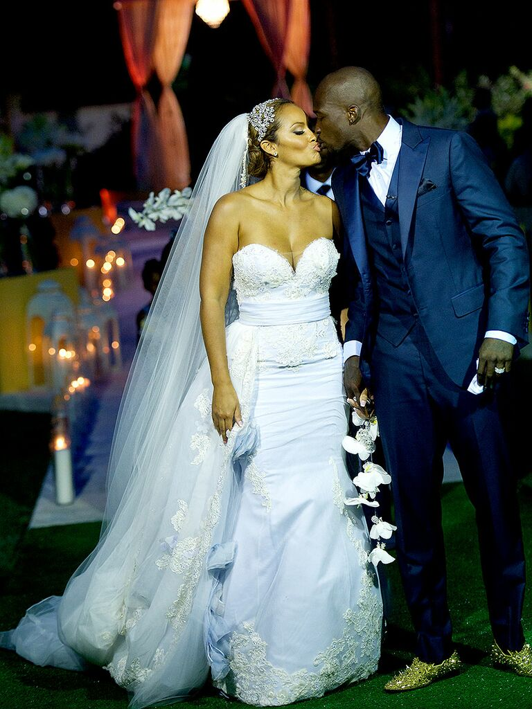 evelyn lozada wedding dress