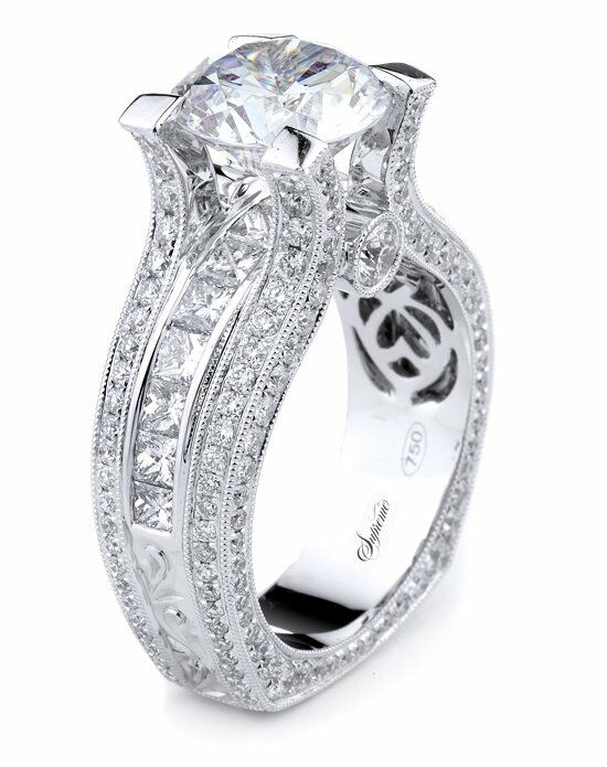 Supreme Jewelry SJ0573 Engagement Ring photo