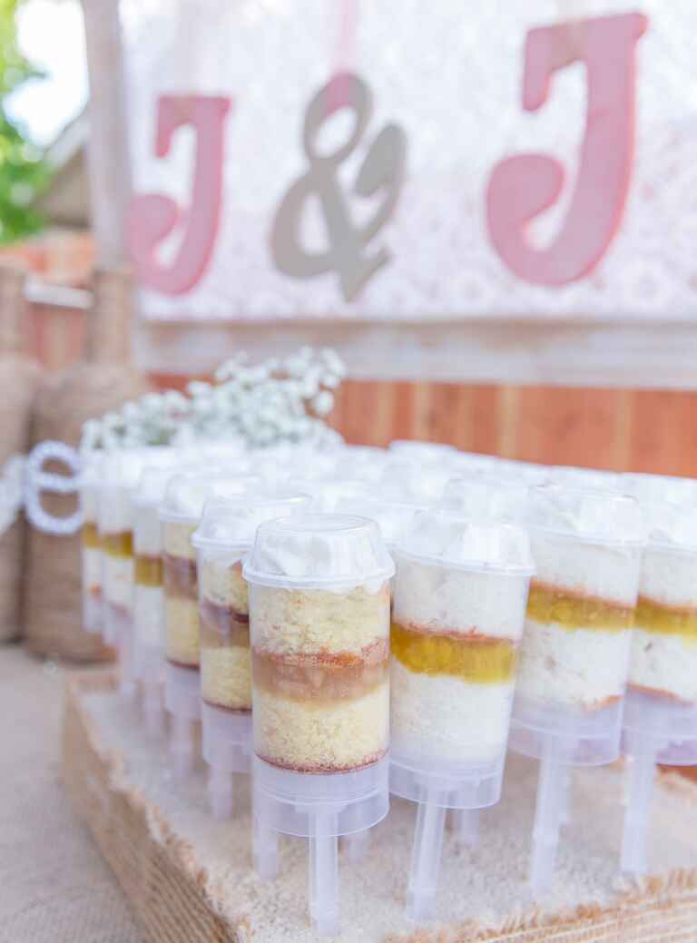 push pops wedding dessert