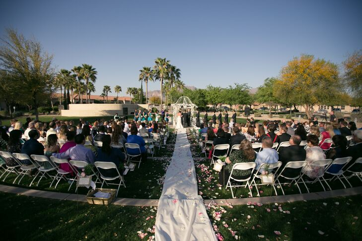 Superstition Mountains Wedding Ceremony at Dolce Vita