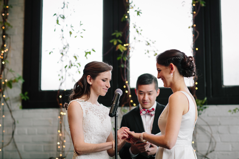 Catholic Jewish Fusion Wedding At 501 Union