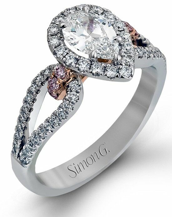 Simon G. Jewelry NR467 Engagement Ring photo