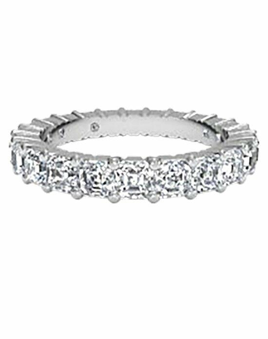 Ritani Women's Slim Asscher-Cut Diamond Eternity Band in Platinum (3.04 CTW) Wedding Ring photo