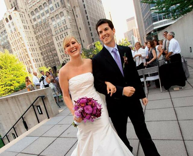 Kate Mike An Outdoor Wedding In Chicago IL