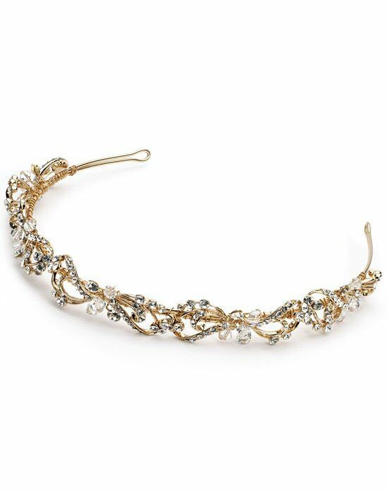 USABride Rosabel Gold Headband TI-3159-G Wedding Accessory photo