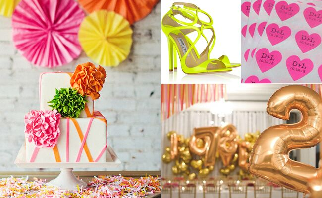 Neon Wedding Inspiration — Plus An Electronic After-Party Play List!
