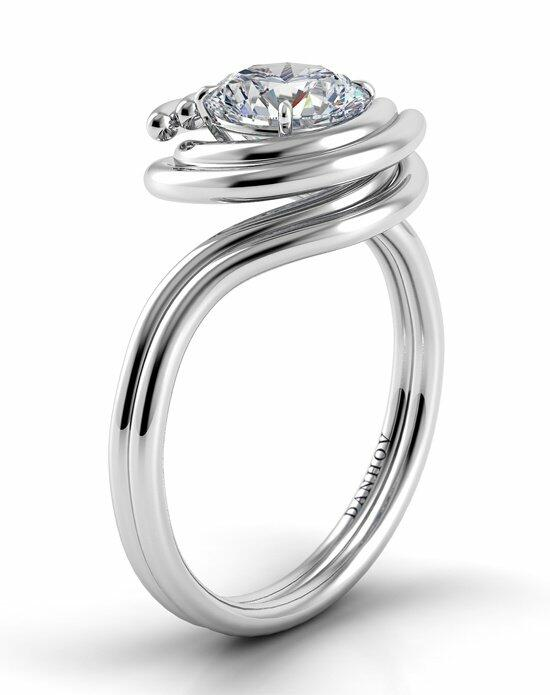 Danhov Abbraccio Double Swirl Engagement Ring photo