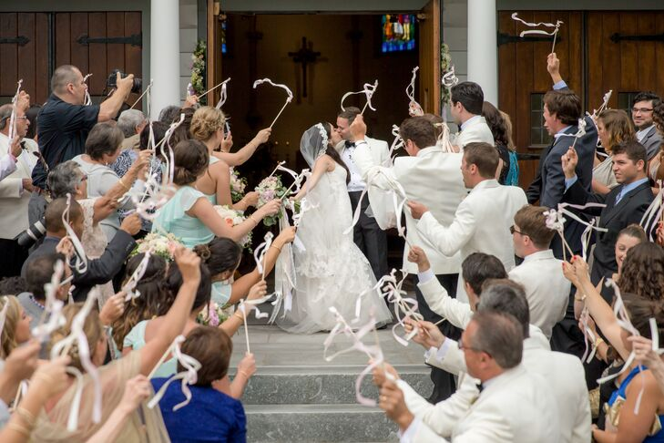 Ribbon-Waving Recessional from Little White Church