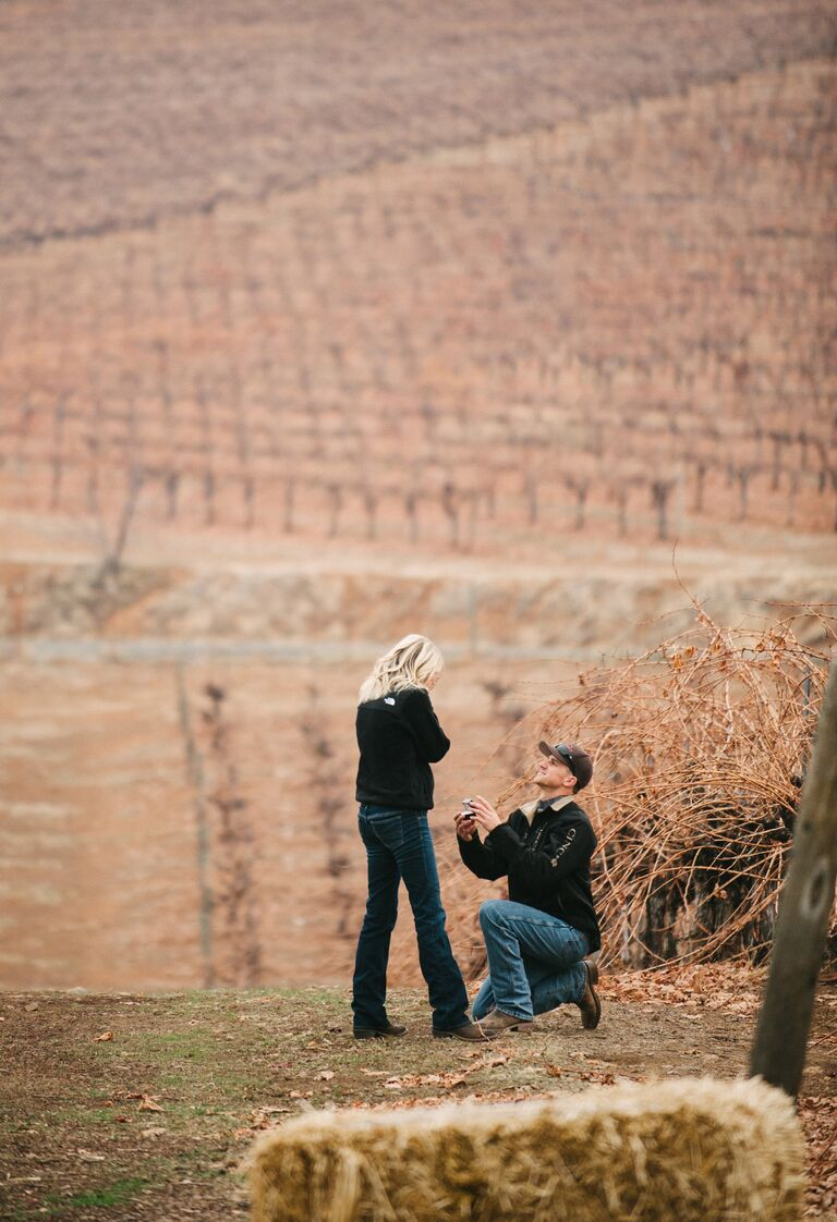 Fall marriage proposal ideas