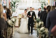 Jayme Molohon (30 and a registered nurse) and Robert Pack (30 and a pool builder), who met two-stepping at a local country-western barn, envisioned so