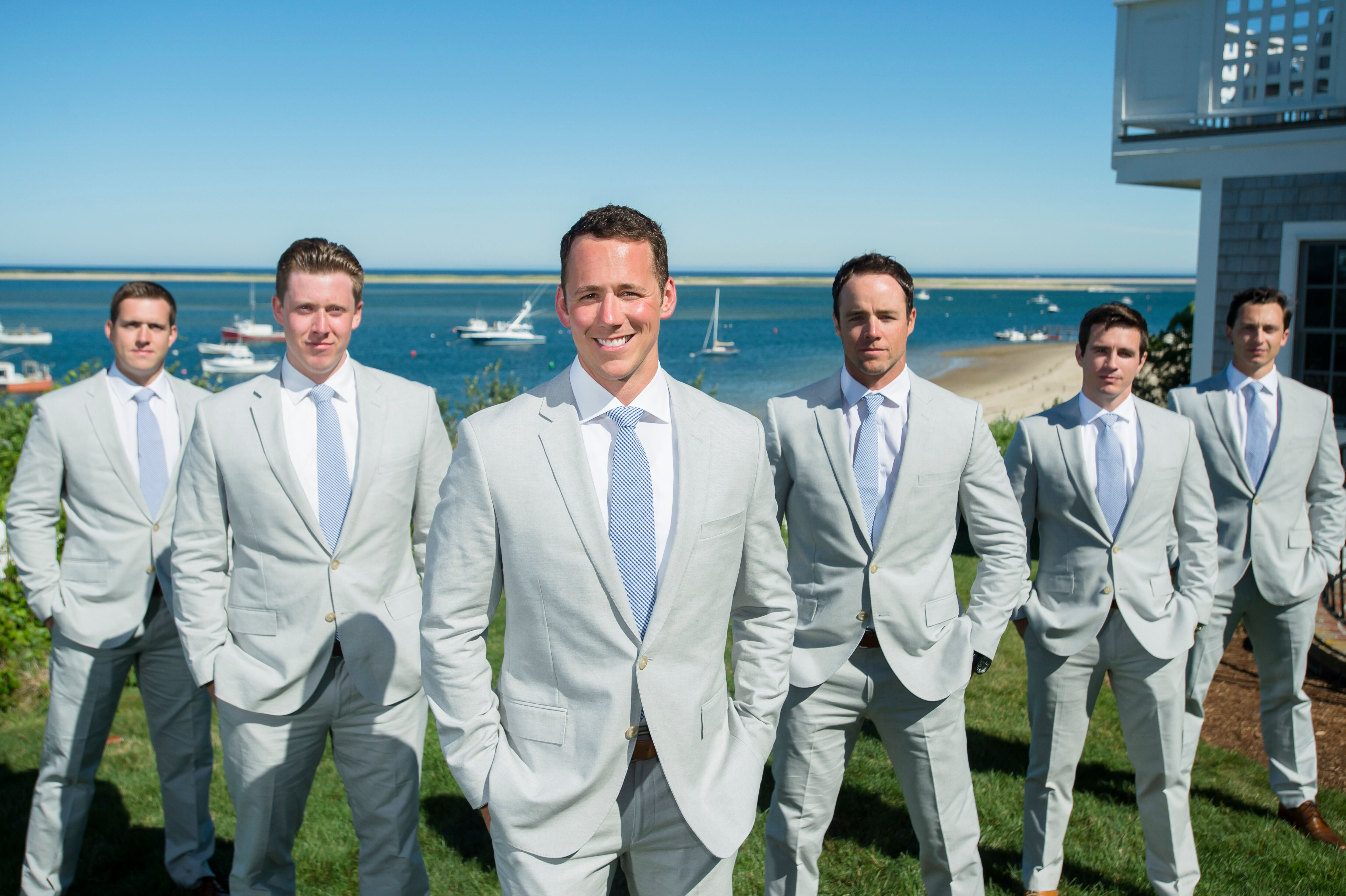 Preppy Wedding Tuxedos + Suits