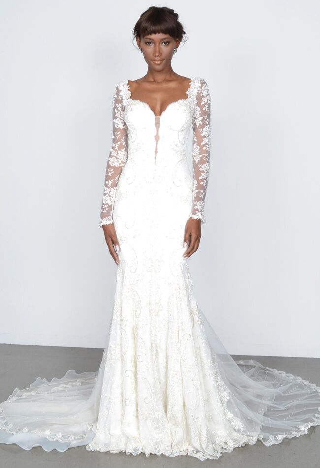See kim kardashians givenchy wedding dress and get the look wedding dress by galia lahav junglespirit Choice Image