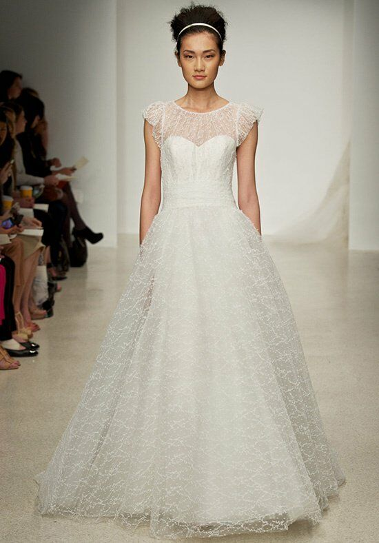 Christos Meadow Wedding Dress photo