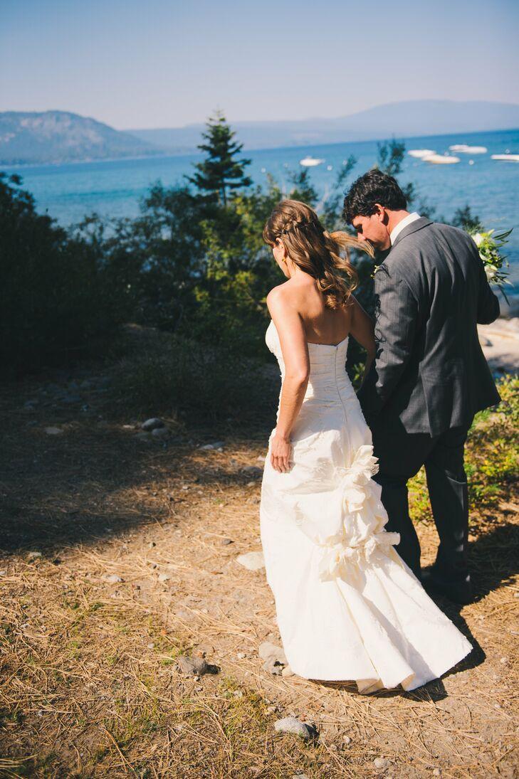 A Rustic Lake Tahoe Wedding At Chambers Landing In Homewood California