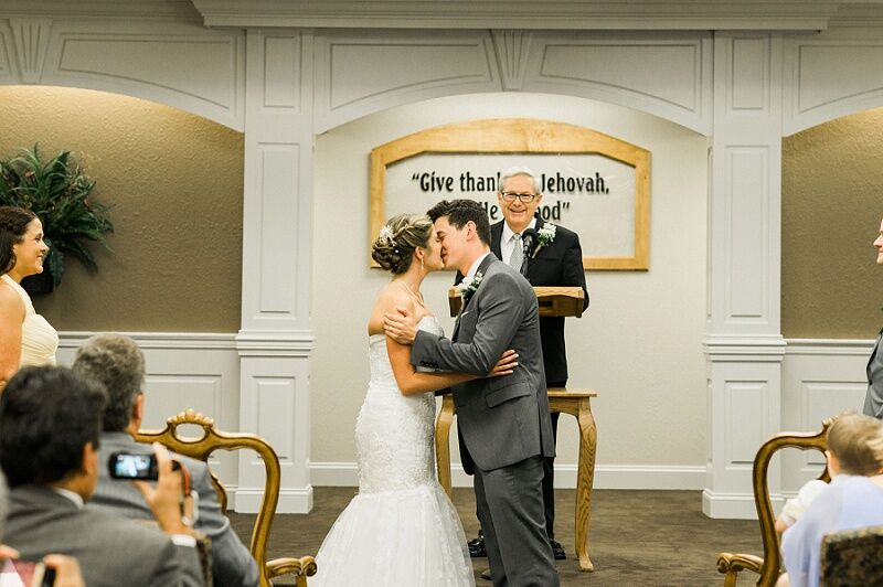 Jehovahs Witness Wedding Ceremony in Tennessee