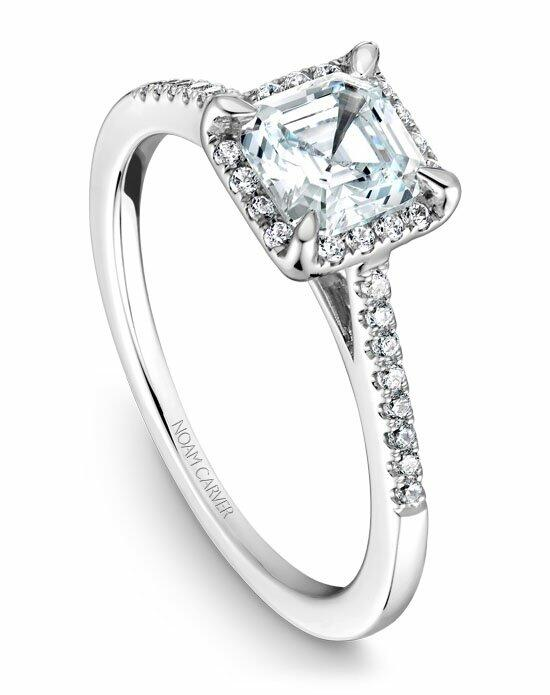 Noam Carver B094-01WS-100A Engagement Ring photo