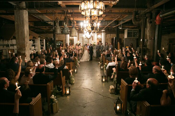 Indoor Salvage One Wedding Ceremony