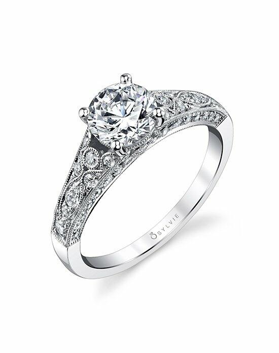Sylvie Collection S1272 Engagement Ring photo