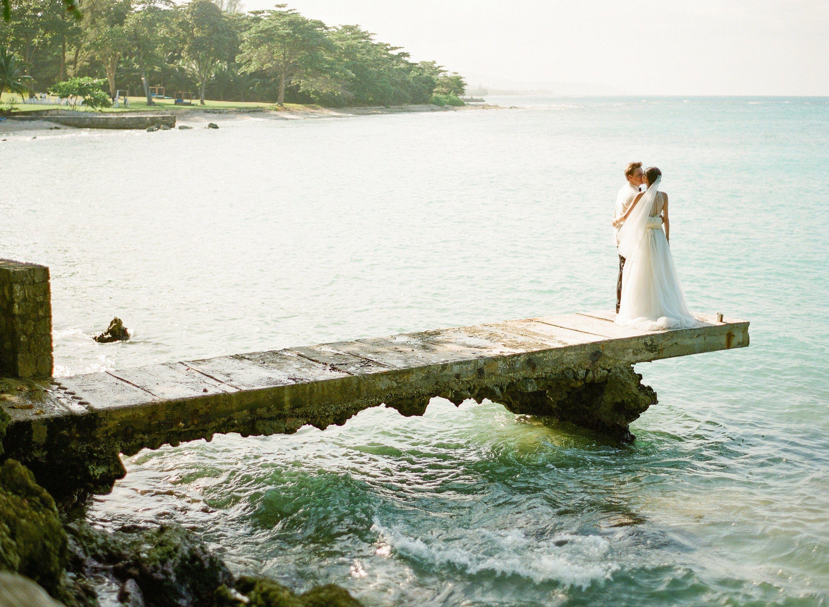 A Round Hill Hotel & Villas Wedding in Montego Bay, Jamaica