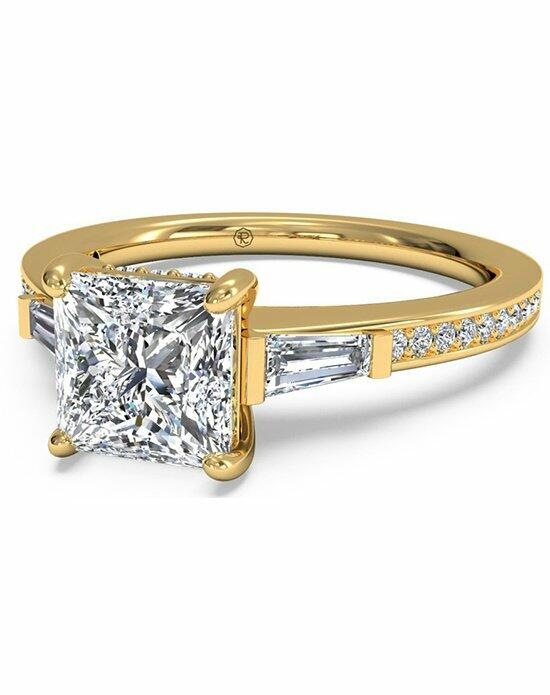 Ritani Princess Cut Tapered Baguette Diamond Band Engagement Ring in 18kt Yellow Gold (0.39 CTW) Engagement Ring photo