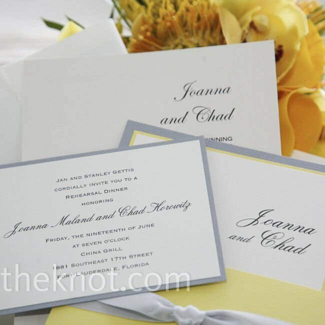 ivory linen invitations