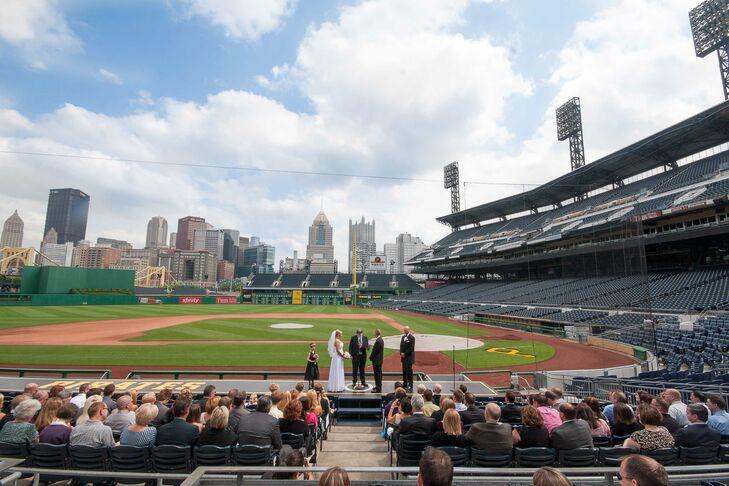 Pittsburgh pirates wedding