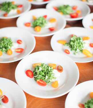 Farm-to-table wedding catering ideas
